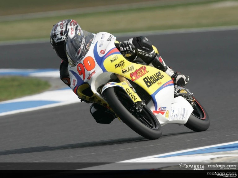 125cc - Circuit Action Shots - GMC Australian Grand Prix