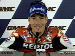 Nicky HAYDEN after QP