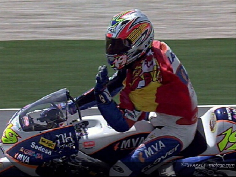 Alvaro Bautista - 2006 World Champion