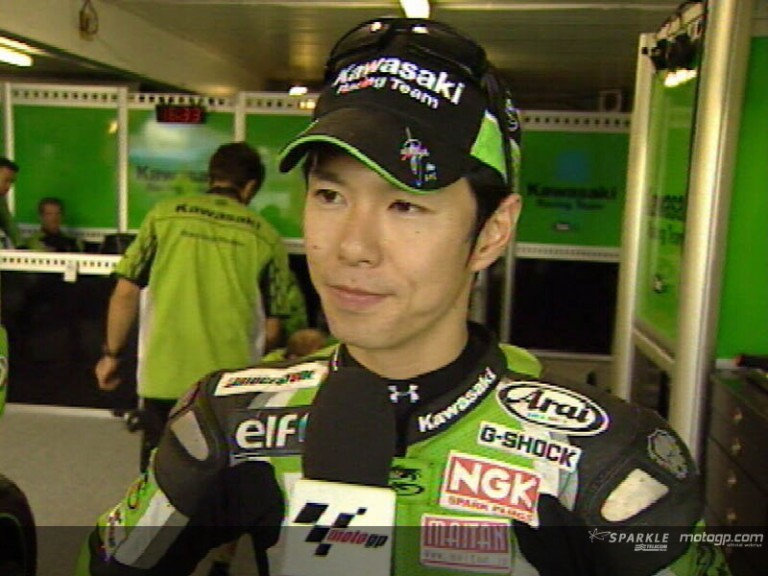 Shinya NAKANO after race