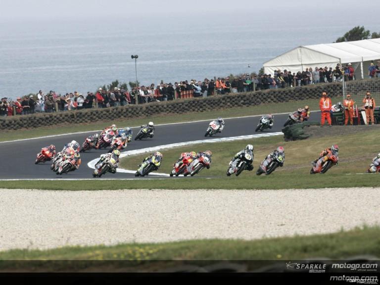 125cc - Circuit Action Shots - GMC Australian Grand Prix