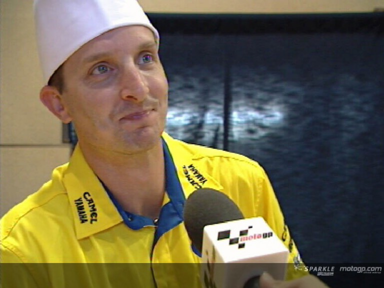 Colin EDWARDS after pre-event