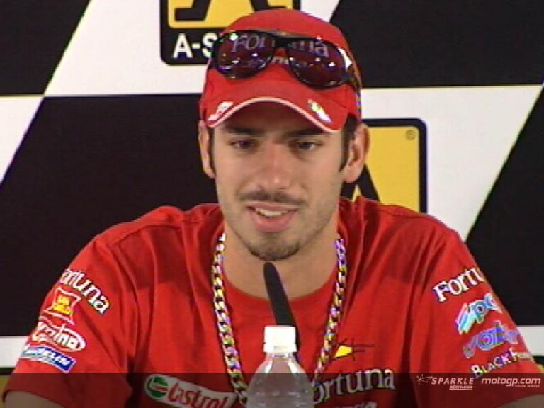 Marco MELANDRI - Press Conference