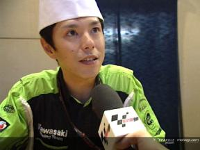 Shinya NAKANO after pre-event