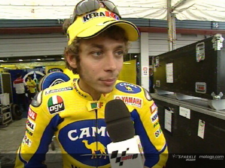 Valentino ROSSI after FP2