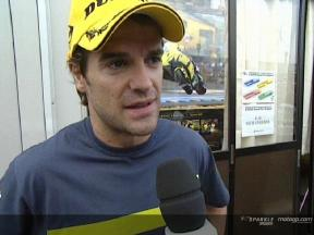 Carlos CHECA after FP2