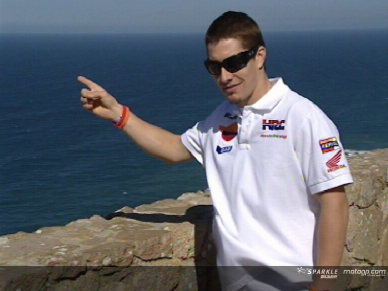Hayden visits Cabo da Roca