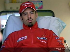 Dr. Costa talks about Melandri´s injury