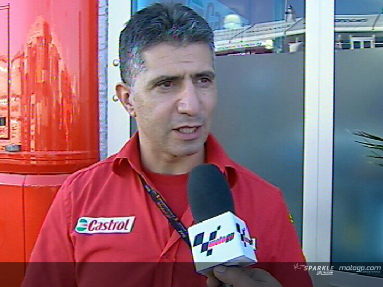 Antonio Jimenez about Melandri accident