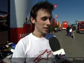 Eugene Laverty on 250cc talks