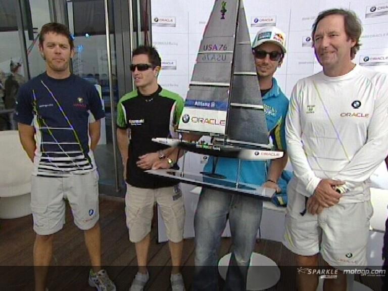 MotoGP sets sail in Valencia
