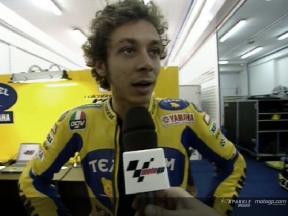 Interview de Rossi - Valencia Test