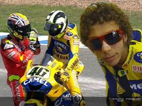 Rossi´s crash at Jerez