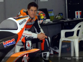 HAYDEN SEPANG TEST NOVEMBER DAY 1