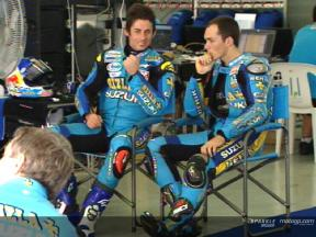 Suzuki lead Sepang test