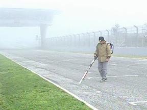 Mist in Jerez