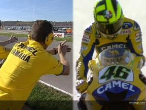 Rossi´s most painful crash