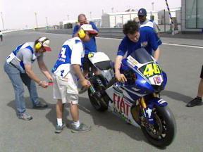 Las motos de 2007 pasan control
