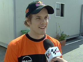 Kallio looking forward to 250cc debut