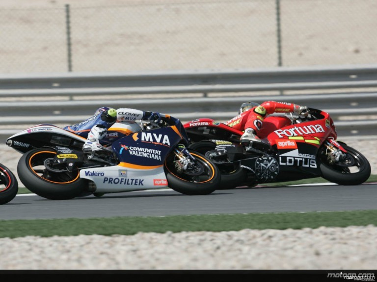 250cc - Circuit Action Shots - Commercialbank Grand Prix of Qatar