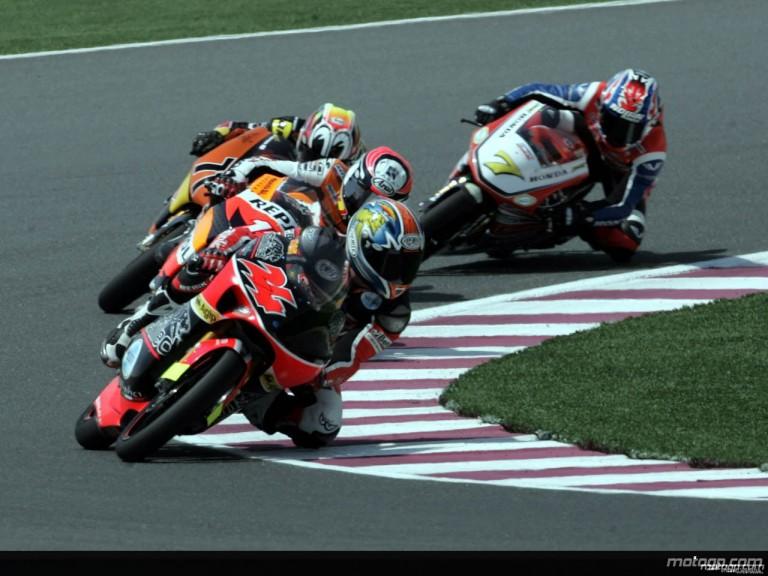 125cc - Circuit Action Shots - Commercialbank Grand Prix of Qatar