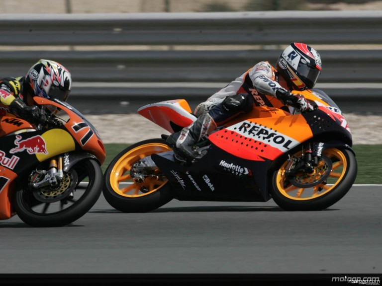125cc - Circuit Action Shots - Commercialbank Grand Prix of Qatar