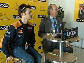 Pedrosa: the face of La Caixa