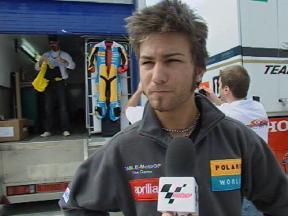 公式予選2:M.パシーニ インタビュー