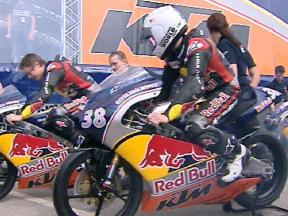 Red Bull MotoGP Rookies Cup underway