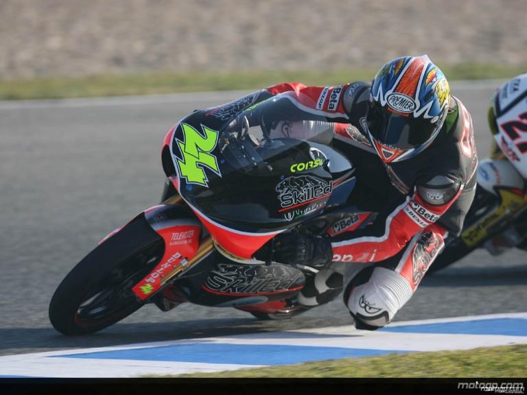 125cc - Circuit Action Shots - Gran Premio bwin.com de España