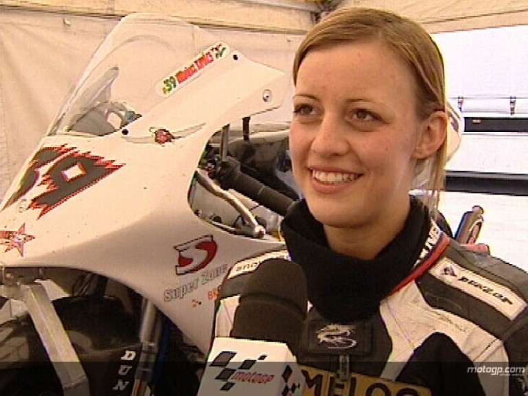 Nikolett Kovac on her attempts to qualify for 125cc Grand Prix