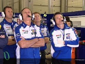 Los equipos de Yamaha, con nuevo sponsor
