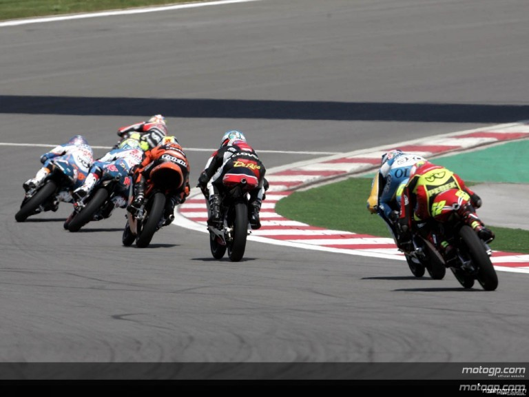 125cc - Circuit Action Shots - Gran Prix of Turkey