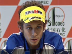 Valentino ROSSI - Pressekonferenz