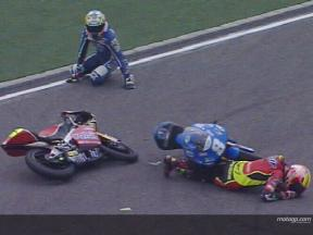 ZANETTI and PASINI crash during QP2