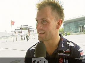 Gabor Talmacsi on 100th GP appearance