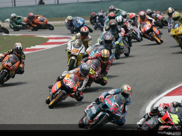 125cc - Circuit Action Shots - Polini Grand Prix of China