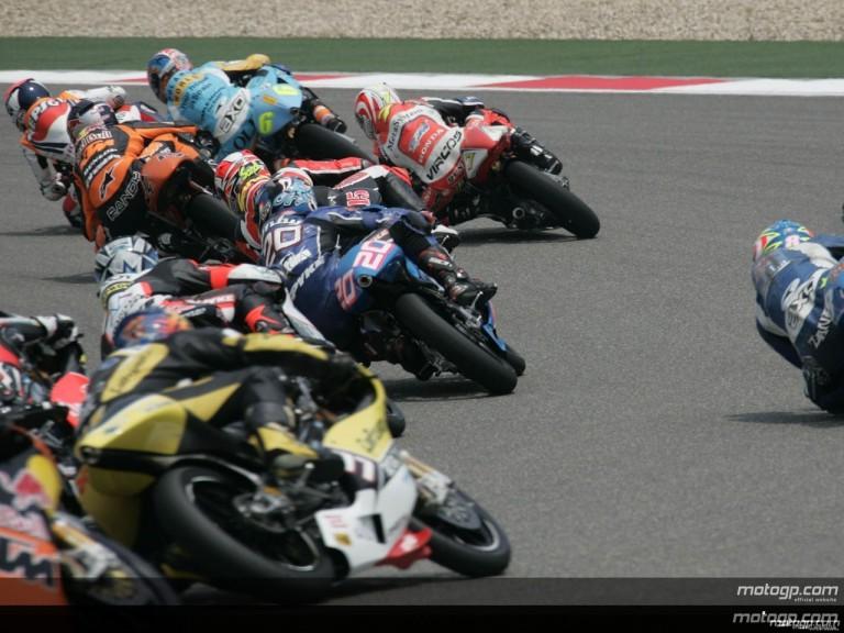 125cc - Circuit Action Shots - Polini Grand Prix of China