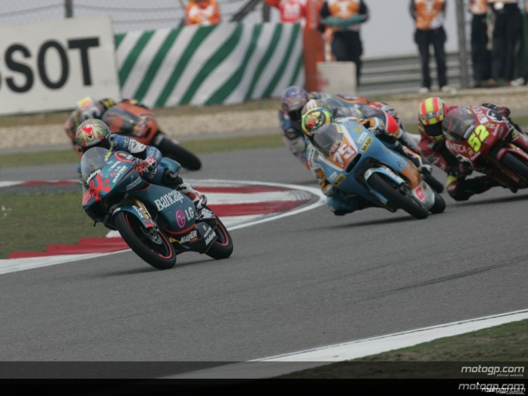 125cc - Circuit Action Shots - Sinopec Great Wall Lubricants Grand Prix of China