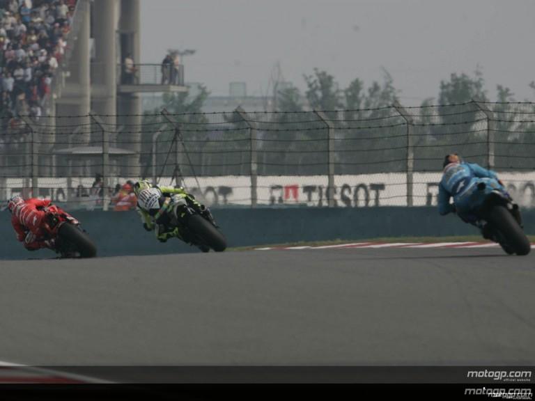 MotoGP - Circuit Action Shots - Sinopec Great Wall Lubricants Grand Prix of China