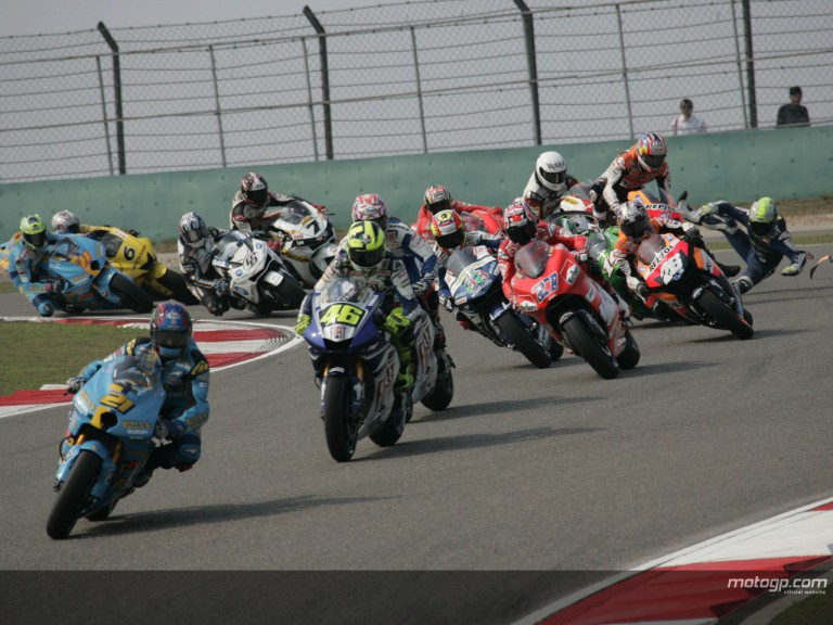 MotoGP - Circuit Action Shots - Sinopec Great Wall Lubricants Grand Prix of China