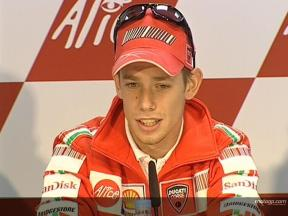 STONER: Ducati will run well here