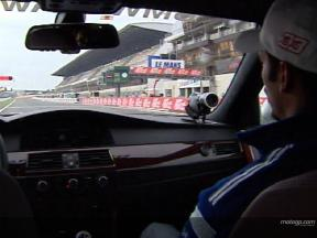 A lap of le Mans with Melandri