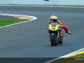 Lorenzo-Dovizioso clash at Le Mans