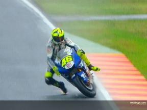 Valentino ROSSI teve um acidente durante na FP2