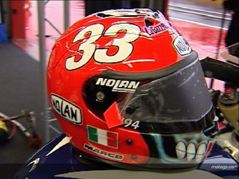 Italians unveil special helmet designs