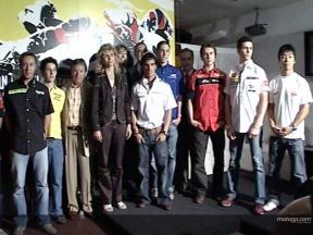 Presentación GP Cinzano de Catalunya