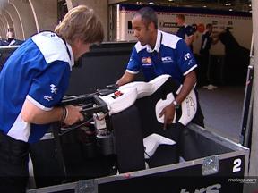 MotoGPロジスティック