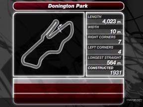 Donington Park analysis