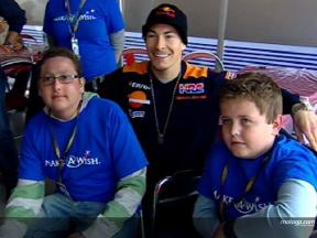 Make A Wish with Nicky Hayden
